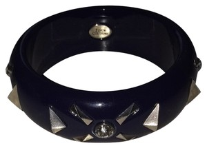 Juicy Couture Juicy Couture Navy Bangle With Diamond And Spikes
