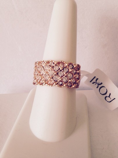 Roxi Roxi Rose Gold Plated Austrian Ring, Size 8 Image 2