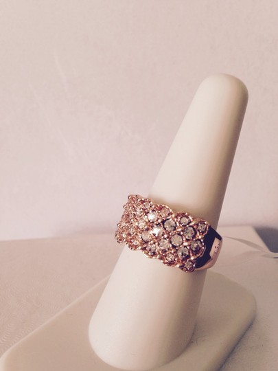 Roxi Roxi Rose Gold Plated Austrian Ring, Size 8 Image 3