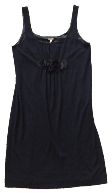 Preload https://item2.tradesy.com/images/jcrew-black-tailored-wool-rosette-mid-length-short-casual-dress-size-4-s-3302356-0-0.jpg?width=400&height=650