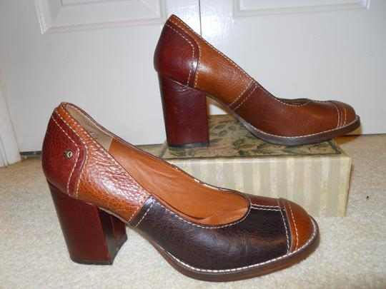 Lucky Brand multi brown Pumps