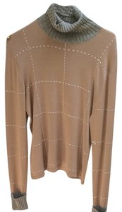 Eddy K Neck Neck Top Beige
