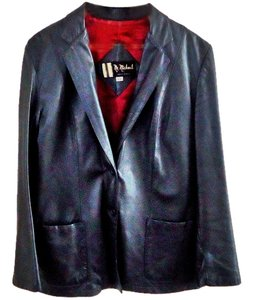 Michael Antonio Leather Classic black Leather Jacket