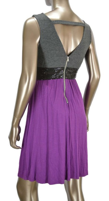 Ella Moss short dress Purple/Gray on Tradesy
