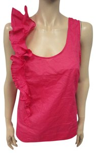 Anthropologie Top Hot Pink