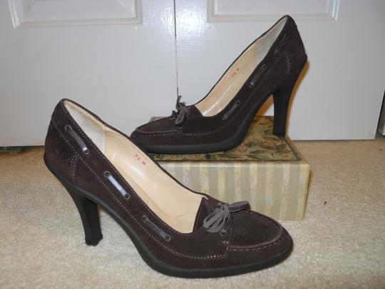 Michael Kors Leather Suede brown Pumps