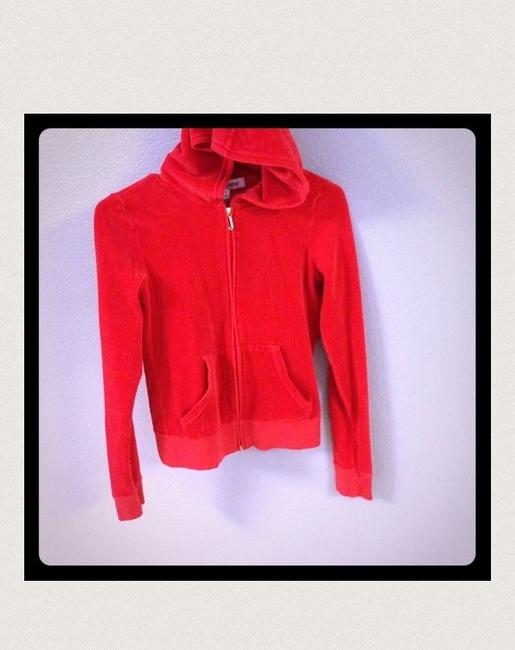 Preload https://item5.tradesy.com/images/juicy-couture-coral-red-sweatshirthoodie-size-4-s-330709-0-0.jpg?width=400&height=650