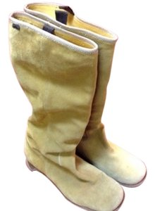 Camper Suede Leather Tan Boots