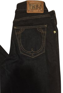 True Religion Denim Mid Rise Skinny Jeans-Dark Rinse