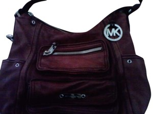 MICHAEL KORS Satchel in BURGUNDY