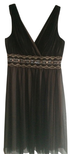 Preload https://item2.tradesy.com/images/js-boutique-dress-black-and-nude-3310231-0-0.jpg?width=400&height=650
