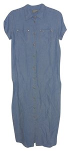 DENIM Maxi Dress by LIZ CLAIBORNE LIZWEAR PETITES