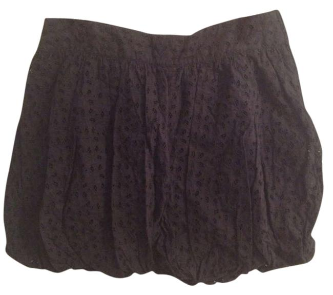 Luella Bartley for Target Bubble Mini Eyelet Mini Skirt Black