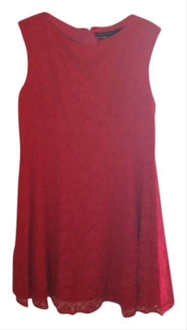 Preload https://img-static.tradesy.com/item/3310930/french-connection-red-mid-length-cocktail-dress-size-12-l-0-0-650-650.jpg