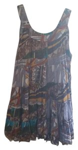 Aldo Marino Positano short dress Multi/Patterned Italian Mod Pattern Flowy Summer European on Tradesy