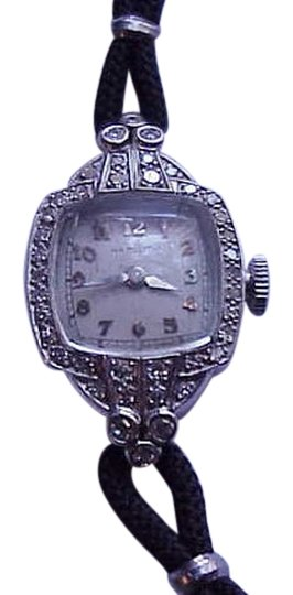 Preload https://item5.tradesy.com/images/estate-platinum-34-old-european-cut-diamond-hamilton-watch-331264-0-2.jpg?width=440&height=440