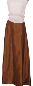 X SCAPE by Lawrenci Kurtz Maxi Skirt Light Brown
