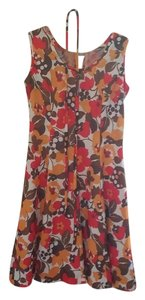 short dress Multi/Floral British Mod England Floral on Tradesy