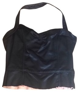 Marc by Marc Jacobs Black Halter Top