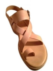Kork-Ease Natural Vachetta Leather Platforms