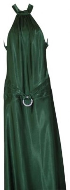 Preload https://item3.tradesy.com/images/betsy-and-adam-emerald-green-sexy-halter-satin-long-formal-dress-size-10-m-33162-0-0.jpg?width=400&height=650