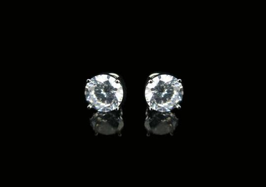 Other 6mm Round CZ Earring