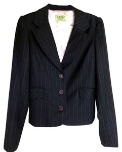 Juicy Couture Navy pinstripe Blazer