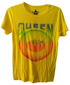Chaser Queen Band T Shirt Yellow