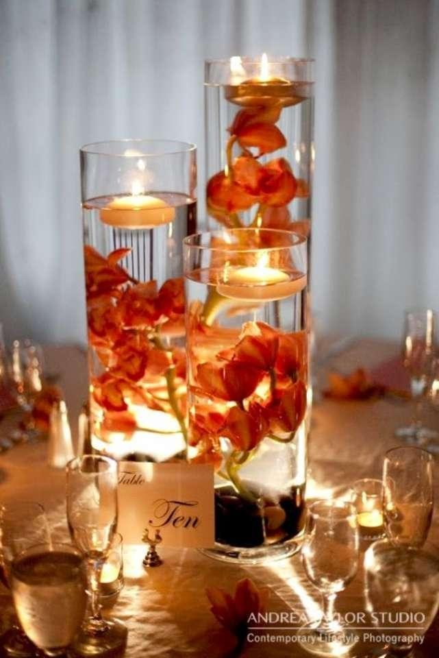Clear 36 Cylinder Vases 36 Floating Candles Centerpiece Tradesy