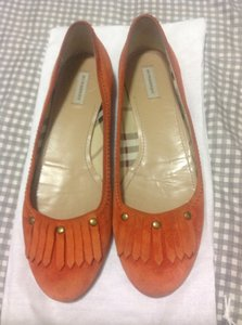 Burberry Tan/Light Brown Flats