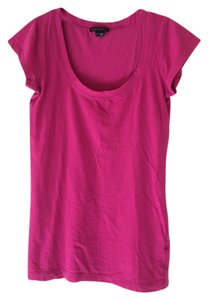 Theory T Shirt Fuchsia