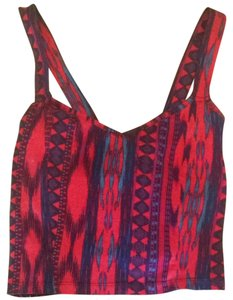 Charlotte Russe Top Red, Purple, Blue, Black