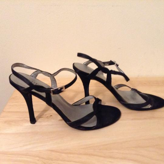 Guess By Marciano Elegant Strappy Black Sandals