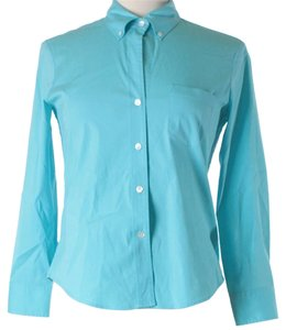 Theory Button Down Shirt Blue