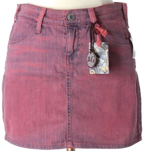 AG Adriano Goldschmied Mini Skirt Pink