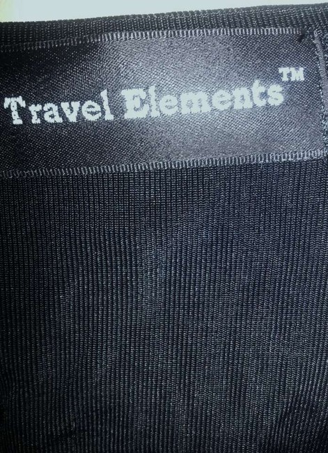 Travel Elements No Iron Well Slinky Top Black
