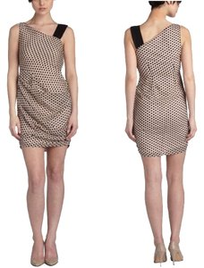 Eva Franco short dress Light Pink/Black on Tradesy