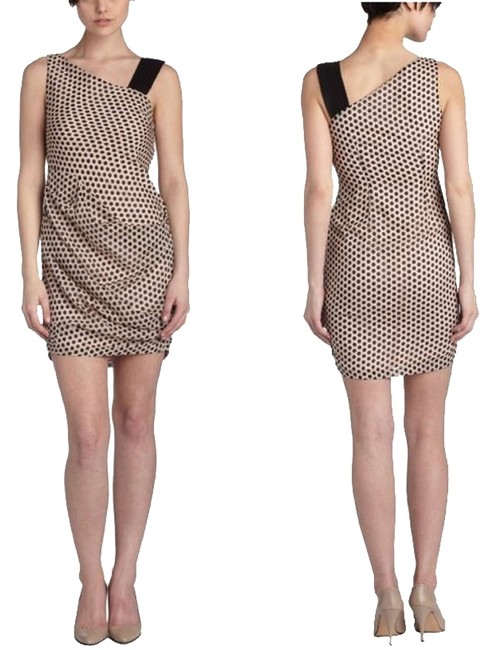 Preload https://item2.tradesy.com/images/eva-franco-light-pinkblack-anthropologie-olympia-silk-coco-dots-above-knee-short-casual-dress-size-4-332411-0-0.jpg?width=400&height=650