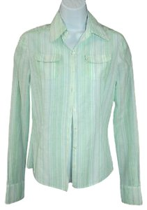 Elie Tahari Cotton Shirt Button Down Shirt