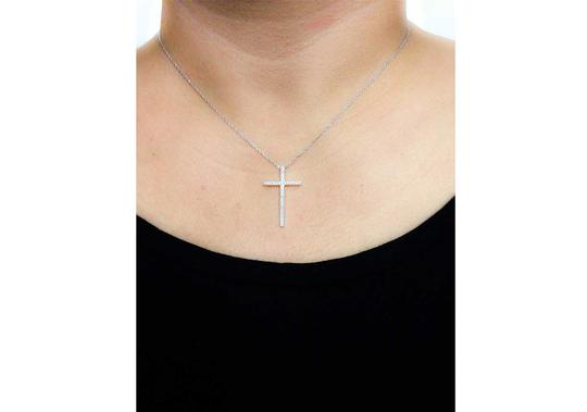 Other Pave Cross CZ Pendant