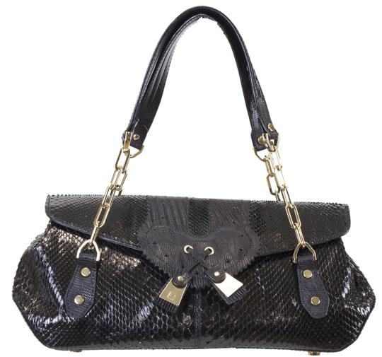 Preload https://img-static.tradesy.com/item/3324622/fratelli-rossetti-black-lisard-leather-satchel-0-0-540-540.jpg