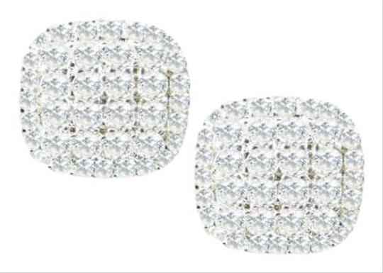 Other Pave Square CZ Earring