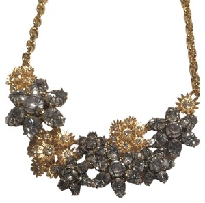 Ann Taylor Flower And Daisy Statement Necklace