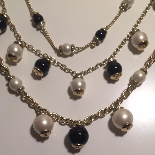 Ann Taylor Pearl Bauble Statement Necklace