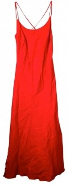 Preload https://item1.tradesy.com/images/geary-roark-kamisato-coral-straps-galore-long-cocktail-dress-size-10-m-33250-0-0.jpg?width=400&height=650