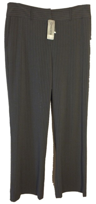 Preload https://item1.tradesy.com/images/chico-s-grey-larin-gry-stripe-dress-career-trousers-size-12-l-32-33-3325015-0-0.jpg?width=400&height=650