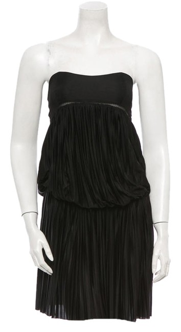Vanessa Bruno Strapless Pleated Dress
