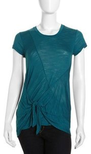 BCBGMAXAZRIA Twist Tie Top Moroccan Blue