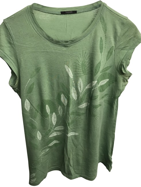 Preload https://item3.tradesy.com/images/tahari-green-blouse-size-6-s-3325567-0-2.jpg?width=400&height=650