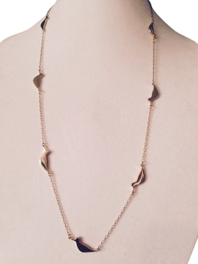 Kate Spade Bird Scatter 12kt Yellow-Gold Necklace